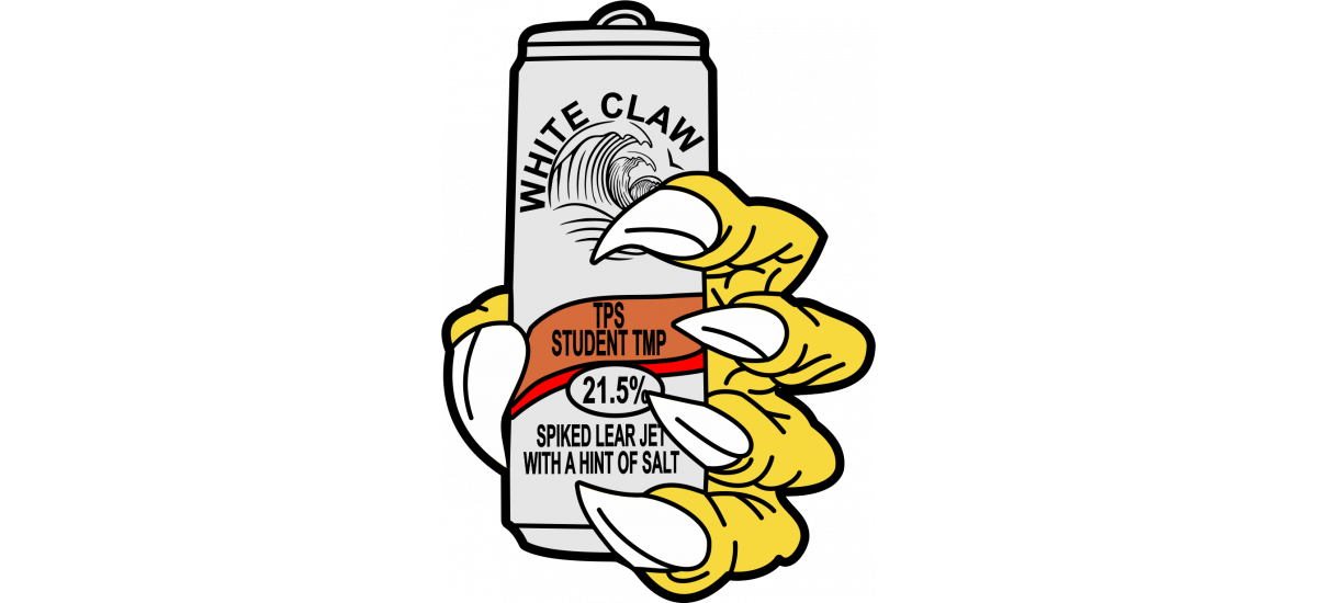 TPS  White Claw Have TPS Student TMP Patch